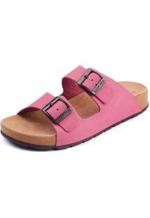 Sandália Sidewalk Anatômica Onda Feminina - Feminino-Rosa+Pink