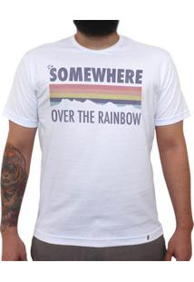 I`M Somewhere Over The Rainbow - Camiseta Clássica Masculina