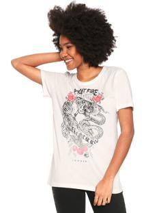 Camiseta Sommer Boy Off-White