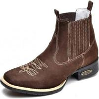 848169223f4e4 Bota Top Franca Shoes Country - Masculino-Café