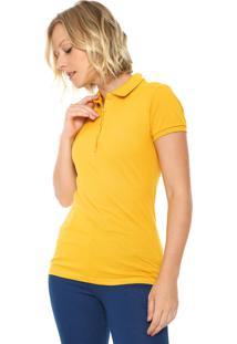 c3e2d5901e ... Camisa Polo Colcci Slim Logo Amarela