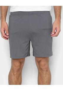Short Adidas 4Ktec Z Ccx 6 Masculino - Masculino-Cinza