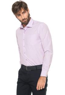 Camisa Crocker Reta Lisa Lilás