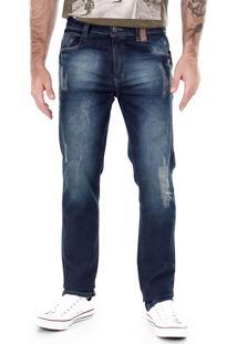 Calça Jeans Dirty Washed Masculina Max Denim