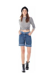 Bermuda Zinco Slim Bicolor Jeans
