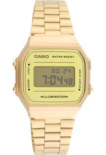 Relógio Casio A168Wegm-9Df Dourado