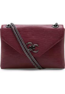 Bolsa Feminina Corello Shoulder Bag Raiz Couro Vinho