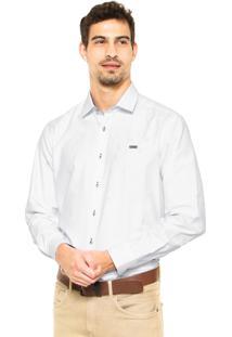 Camisa Mr Kitsch Botões Branca
