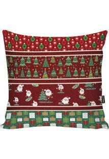 Capa Para Almofada Natalina- Vermelho Escuro & Verdestm Home