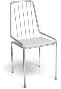 Cadeira Kappesberg Crome Benim Ii Branco