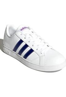 c9d8e930fa0 Tênis Adidas Couro Sintetico feminino