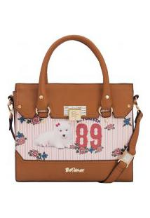 5deac3e32 ... Bolsa Rafitthy Be Forever Akita Flowers