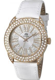 Relógio Ana Hickmann Ah28240Z Branco