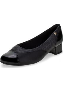 Sapato Feminino Salto Baixo Piccadilly - 141107