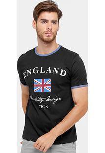 Camiseta Tigs Inglaterra Masculina - Masculino
