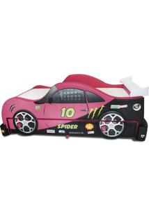 Bicama Spider Cama Carro Rosa