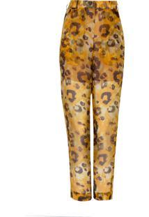 Calca Atelier Le Lis Karina Leopard (Estampa Leopard, 34)