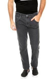 Calça Jeans Fiveblu Reta London Cinza