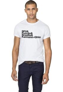 Camiseta Reserva Fuscão Masculina - Masculino-Branco
