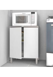 Armário De Cozinha 2 Portas Bmu33 Branco - Brv Móveis