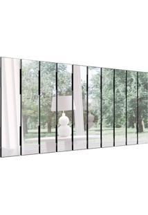 Espelho Decorativo Lucas (150X70) Preto