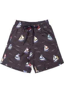 Shorts Aleatory Frigate Masculino - Masculino