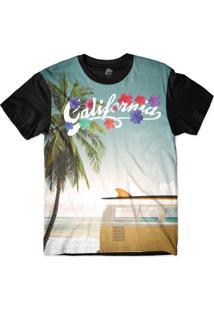 Camiseta Bsc California Kombi Sublimada Azul