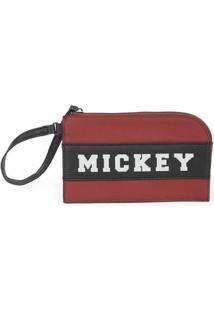 Carteira Feminina Mickey Nc14523Mk - Feminino-Vermelho