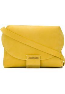 Jacquemus Bolsa Tiracolo Com Logo De Letra - Amarelo