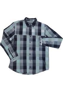Camisa Salomon Bancok Ls Masculino M Cinza