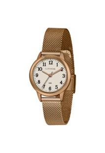 Relógio Analógico Lince Feminino - Lrr4653L B2Rx Rosê