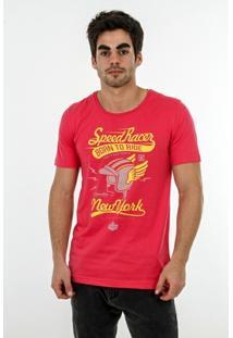 Camiseta Romeo Store Speed Racer Slim Fit - Masculino