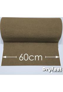 Tapete Dryfeet Bege 60Cm De Largura Por Até 10 Metros De Comprimento