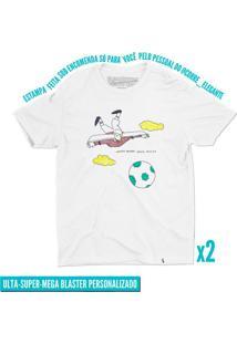 Corre Elegante - 2 Camisetas Basicona Unissex