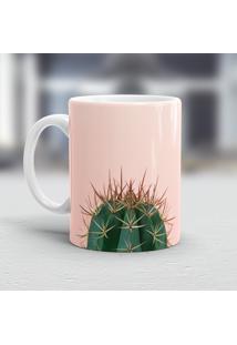 Caneca Porcelana Wevans Cacto Pink