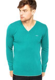 Suéter Colcci Verde
