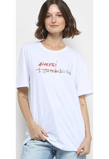 Camiseta Forum Diversidade Manga Curta Feminina - Feminino