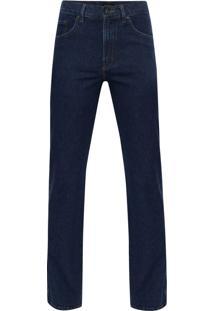 Calça Jeans Tradicional Azul Escuro