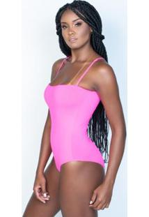 Body Honey Be Neon Feminino - Feminino-Rosa
