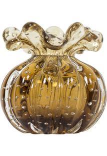 Vaso Decorativo De Murano Messina