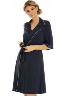 Robe Feminino Marinho Laibel