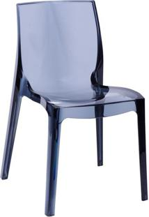 Cadeira Femme Fatale- Fumê- 81,2X51,5X41Cm- Or Dor Design
