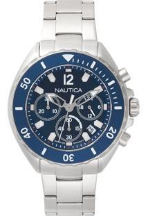 da418fb73f8 ... Relógio Nautica Masculino Aço - Napnwp009 Vivara