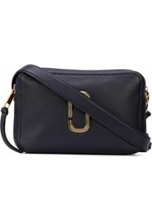 Marc Jacobs Bolsa The Sofshot 27 - Azul