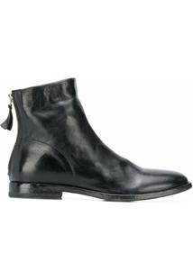 Moma Ankle Boot Nottingham - Preto