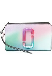 Marc Jacobs Carteira The Snapshot Airbrush 2.0 - Verde