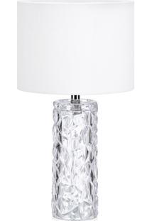 Abajur Lamp Show Amora Branco