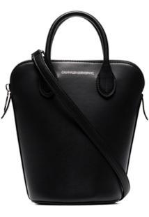 ... Calvin Klein 205W39Nyc Bolsa Saco Mini Dalton De Couro - Preto 805dae617d
