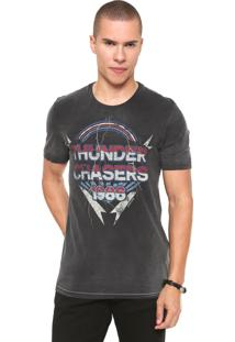 Camiseta John John Thunder Cinza