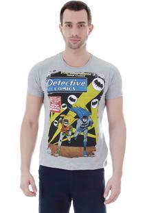 Camiseta Masculina Fkn Menswear Batman - Cinza